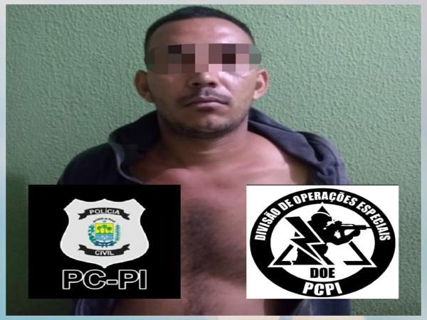 Polícia Civil prende mais um suspeito da prática de homicídio,recupera celular roubado e encontra colete da PM