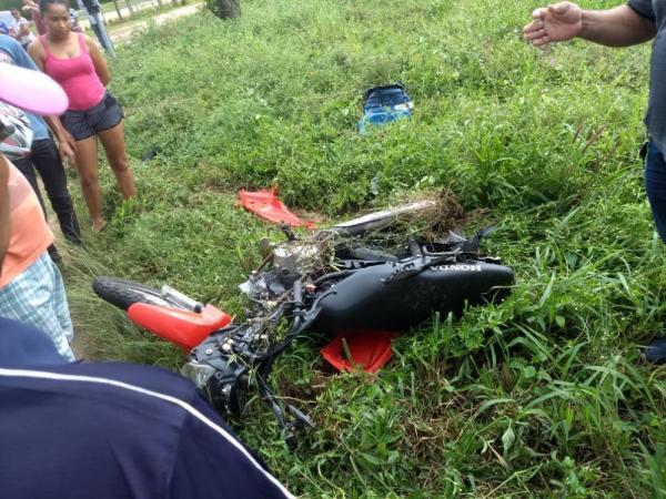 Acidente com vitima fatal na BR 316 na tarde desta terça-feira (30) em Monsenhor Gil