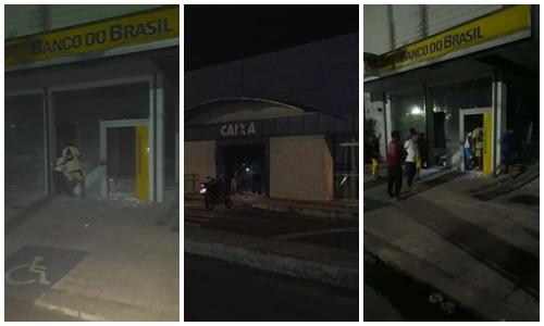 Suspeitos de participação em ataque a bancos no Piauí são presos no MA