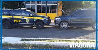 PRF prende homem com carro clonado na BR-316 em Alegrete do Piauí