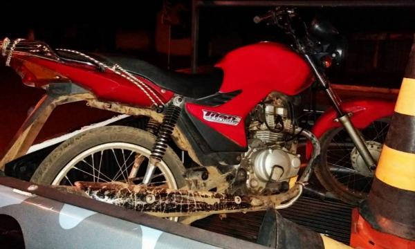 Força Tática e do GPM recupera duas motos roubadas em Amarante