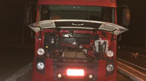 PRF recupera veículo clonado na BR 316 em Alegrete do Piauí