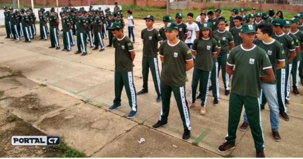Força Tática em atividades no Projeto Mirim Cidadão em Amarante