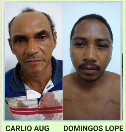 Dois homens são presos suspeitos de agredirem as  esposas em Amarante