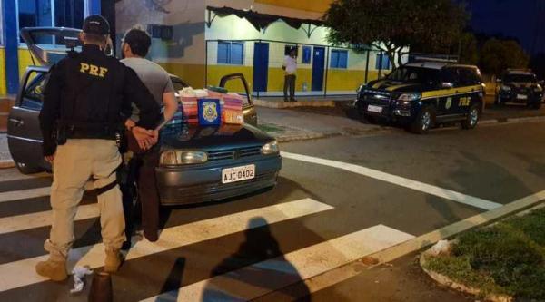 PRF prende Condutor por tráfico de drogas na BR 316 em Picos-PI