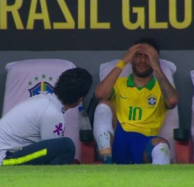 Após lesão em amistoso da seleção, Neymar é cortado da Copa América