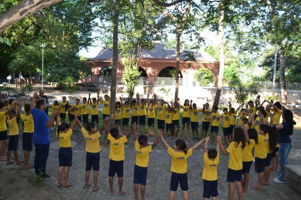 Crianças da LBV em Teresina participam de ações de conscientização do Meio Ambiente