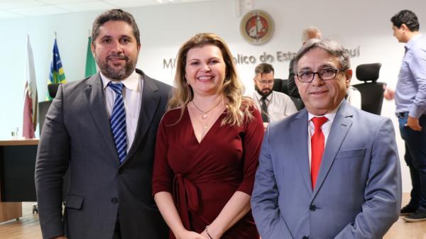 Escolha do novo PGJ: Carmelina Moura, Hugo Cardoso e Paulo Rubens compõem lista tríplice