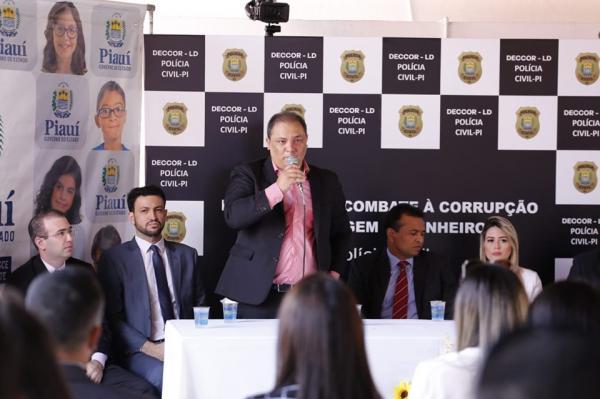 Delegacia de combate à corrupção é inaugura no Piauí
