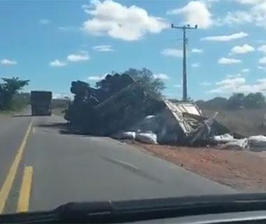 BR-135, no sul do estado, tem três acidentes graves em 24 horas