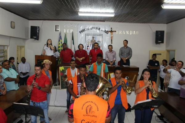 Projeto Pelotão Mirim é lançado no município de Regeneração