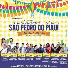 21 de Junho: Taty Girl e Léo Cachorrão agitarão aniversário de São Pedro do Piauí