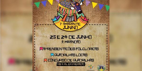 Festival Amarante Junino inicia nesta sexta (23)