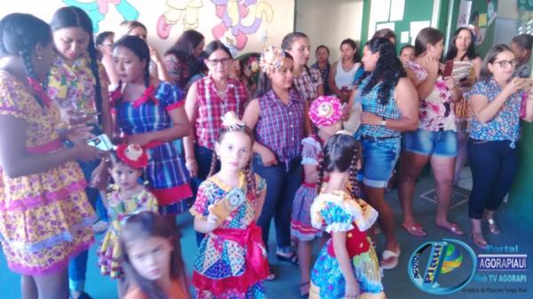 Arraiá da Escola Municipal Faustina Maria de Sousa