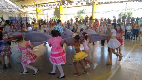Festa junina da escola Municipal Maria Madalena em Hugo Napoleão