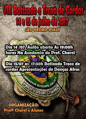 Grupo de Capoeira Gingado Brasileiro realizará 'VIII Batizado de Capoeira' em São Pedro