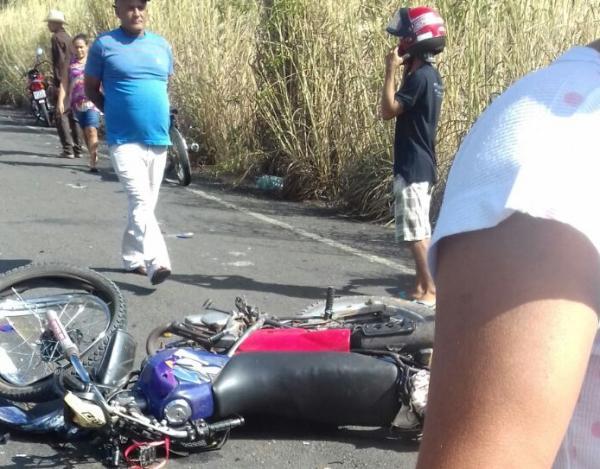 Empresário de Amarante morre após colidir com moto na PI-130