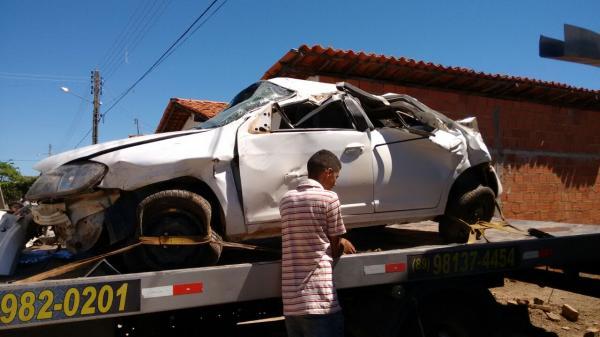 Jovens sofrem acidente viajando de luziânia (GO) para Hugo Napoleão
