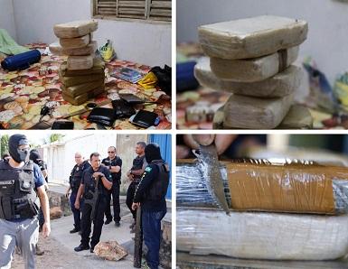 DEPRE prende quatro pessoas e apreende 12kg de drogas