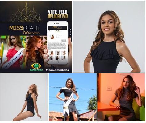 Candidatas oficiais do Miss Piauí 2017 iniciam confinamento
