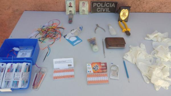 Polícia prende quadrilha e falso dentista que vendiam serviços e produtos odontológicos ilegais em Teresina