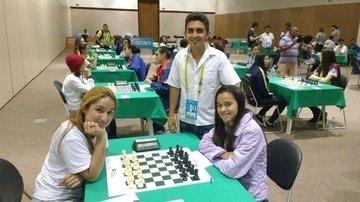 Alunos participam de competição de xadrez em Água Branca
