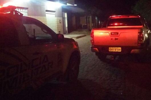 Polícia Militar localiza Camionete roubada na cidade de São Pedro do Piauí