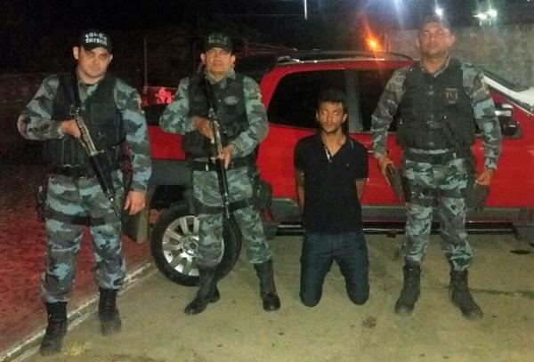 Força Tática de Água Branca recupera veículo furtado na cidade de Amarante