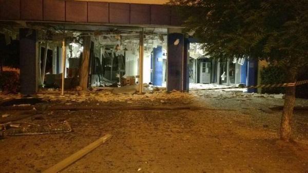Criminosos explodem agência da Caixa Econômica em Teresina