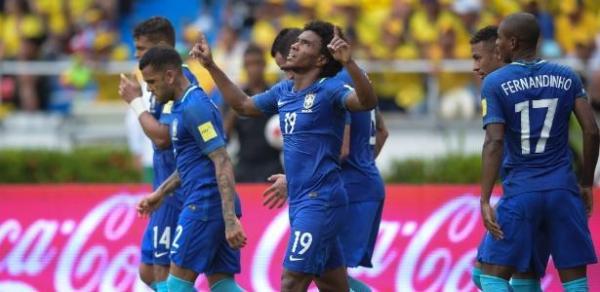 Brasil empata com Colômbia e acaba com sequência de vitórias