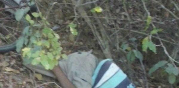 Homem sofre acidente de bicicleta, bate a cabeça em pedra e morre