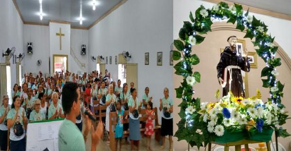 Início do Festejo de São Francisco das Chagas em Hugo Napoleão