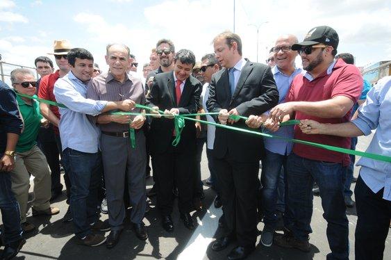 Elevado da Miguel Rosa é inaugurado e melhora o trânsito na zona Sul e Teresina