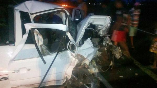 Acidente deixa um morto em colisão frontal na BR 316 em Lagoa do Piauí (PI)