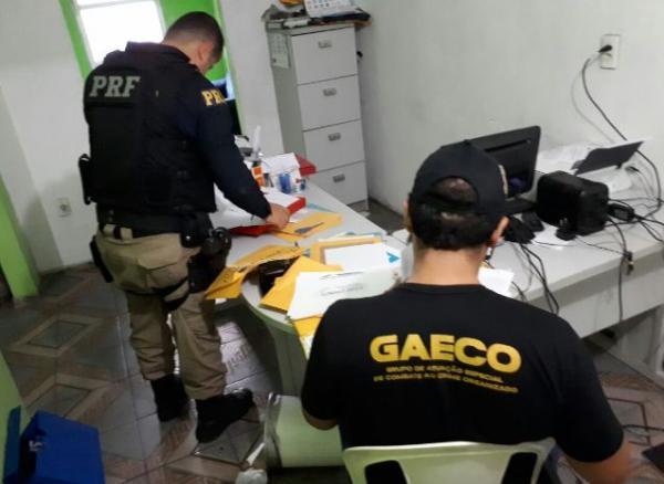 Três pessoas são presas em operação por fraude em licitação no PI