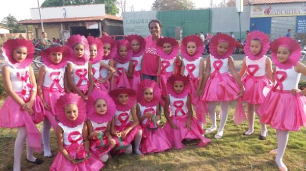 Caminhada do Outubro Rosa aconteceu em Agricolândia