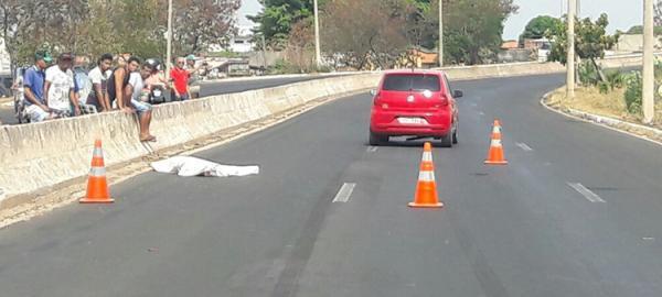 Agricultor morre atropelado ao tentar atravessar BR-316 em Teresina