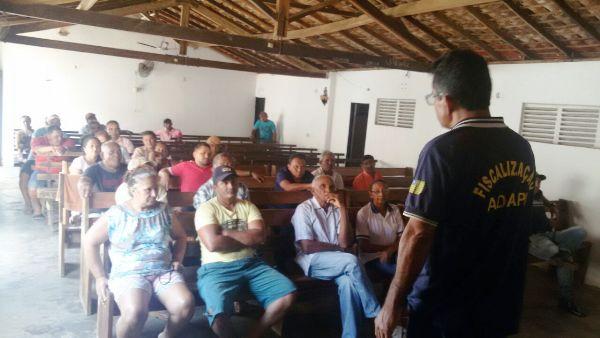 ADAPI orienta criadores de Agricolândia sobre a 2ª etapa da vacinação contra a febre Aftosa.