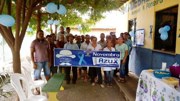 Em Agricolândia foi realizado atividades do Novembro Azul