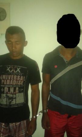 Dupla é presa suspeito de assaltos em Agricolândia