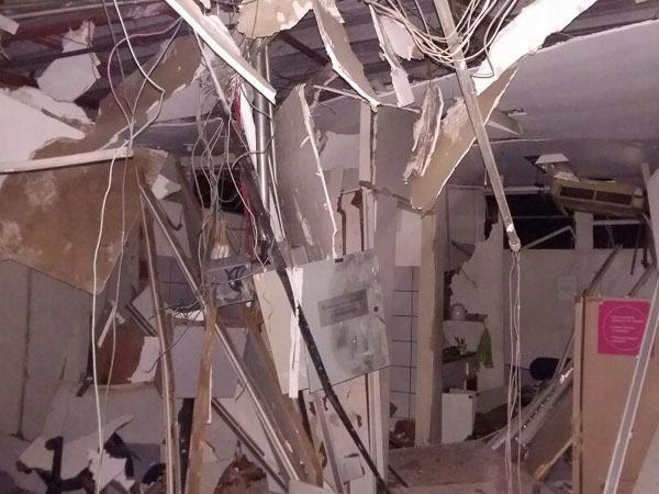 Agência do Banco do Brasil é explodida por seis bandidos em Miguel Alves