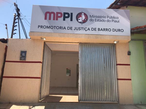 Procurador-Geral de Justiça inaugura nova sede da Promotoria de Justiça de Barro Duro