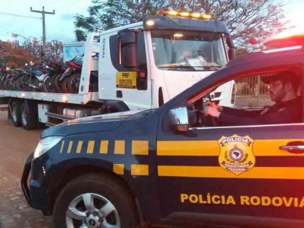 PRF multa 1.094 condutores em operação nas rodovias do Piauí