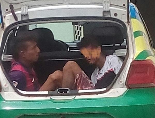 População tenta linchar assaltantes em Agricolândia
