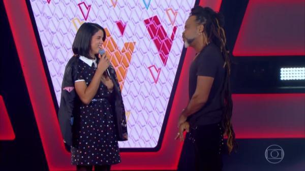 Piauiense canta sucesso de Rita Lee no The Voice Kids, mas nenhum dos jurados vira