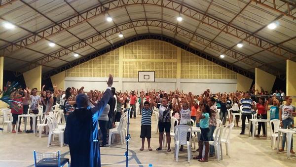 Frei Francisco José,  realizou grande show acústico em Agricolândia