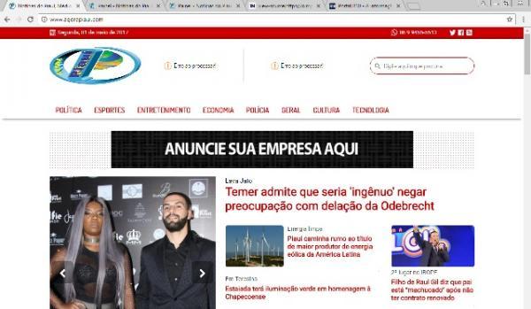 Portal Agora Piauí a partir de hoje está de cara nova