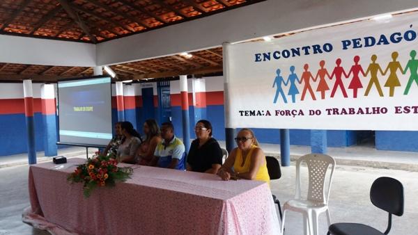 Encontro Pedagógico marca o inicio do ano letivo 2018 em Agricolândia