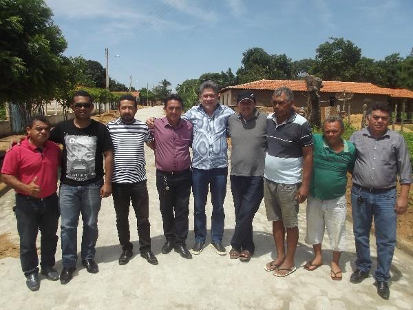 Dep. Estadual João Madson visita Agricolândia e visita obras com o prefeito Walter Alencar