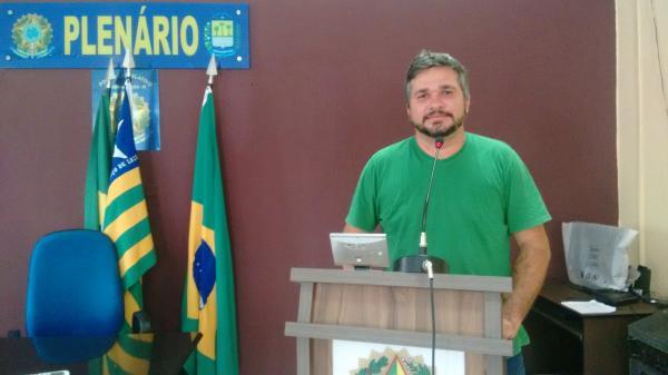 Professor pede 'Fora Temer' na Plenária da Câmara na Semana Pedagógica em Hugo Napoleão